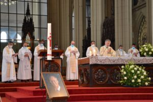 Messe commémorative du roi Baudouin du 11 septembre 2021 Notre Dame de Laeken photos Jeroen Moens